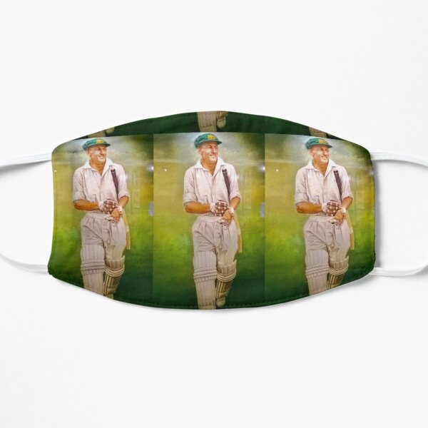 Sir Donald Bradman Flat Mask