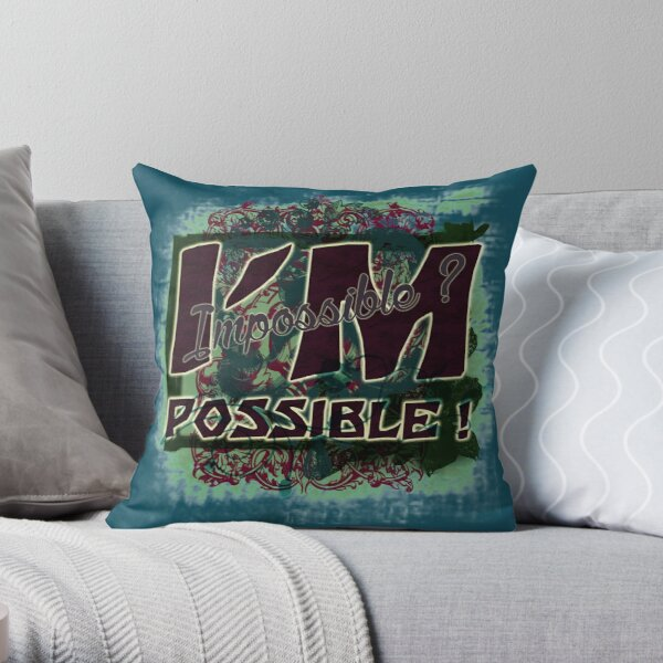 I'm possible Throw Pillow
