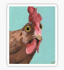 Rooster Art 'Wilson' Farmhouse chic Sticker