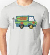 Mystery Machine Wheel Clamp  T-Shirt