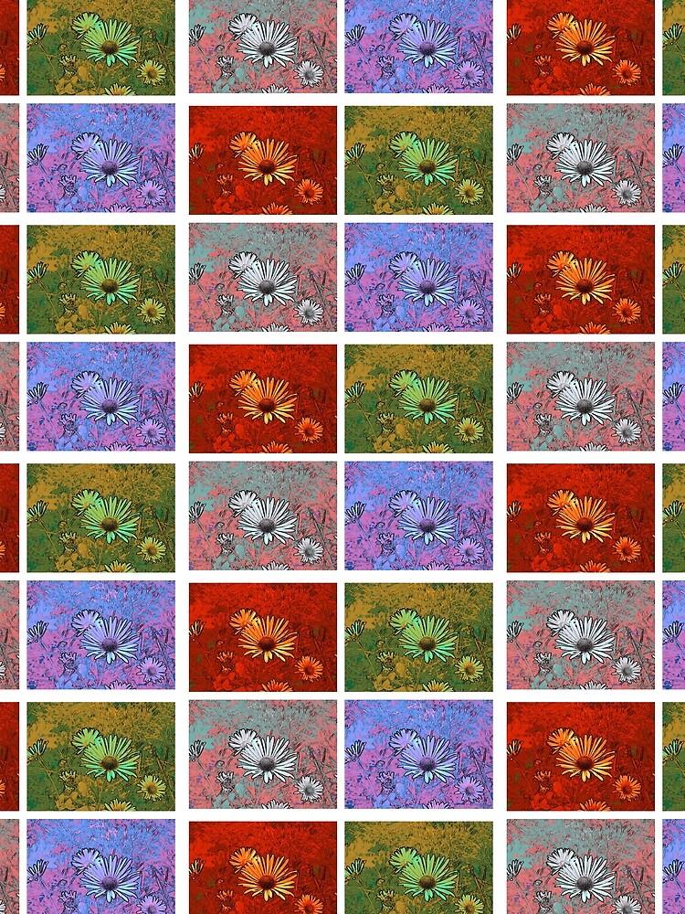 Blütengruß mal 4 von Gourmetkater