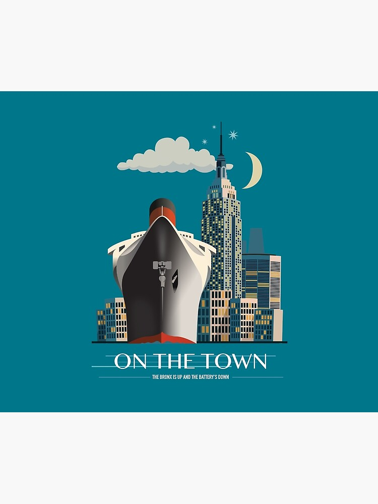 On The Town - Alternative Movie Poster by MoviePosterBoy