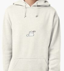 Fat Kitty Mroo Loves Food! Pullover Hoodie