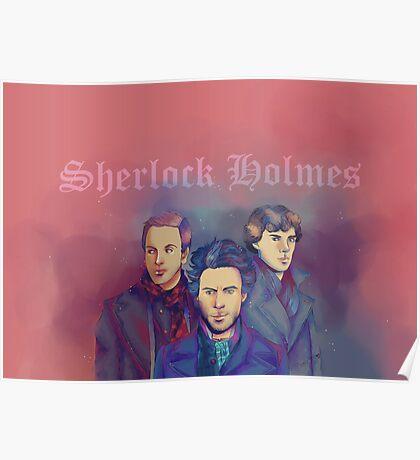 3 Sherlock Poster