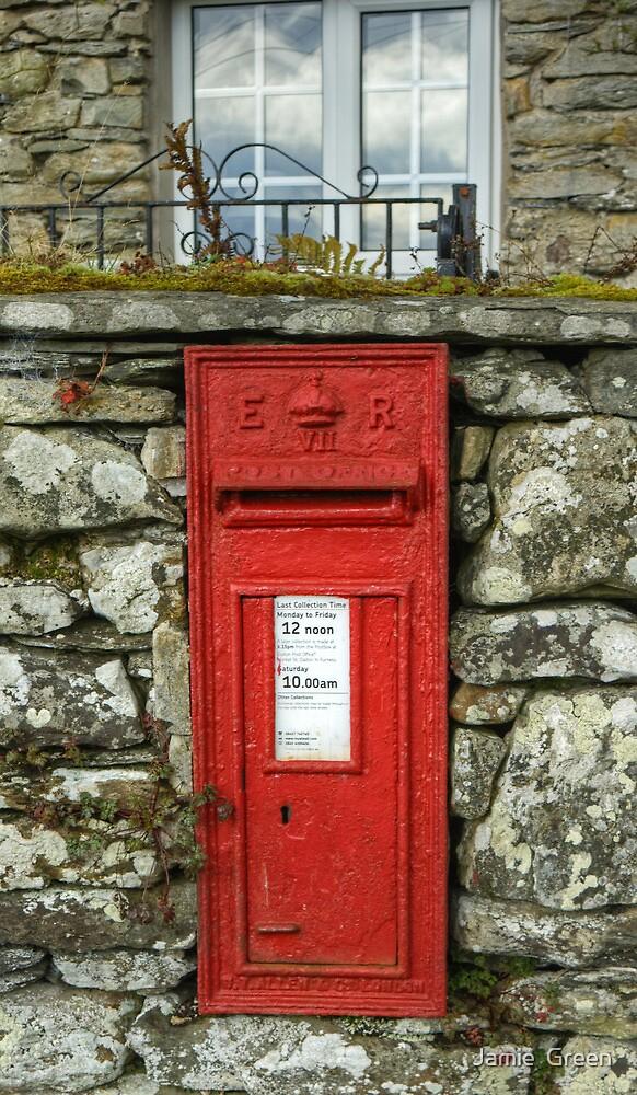 Edward VII Postbox by Jamie  Green