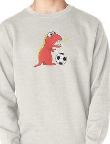 Funny Cartoon Dinosaur Soccer Shirt T-Shirt