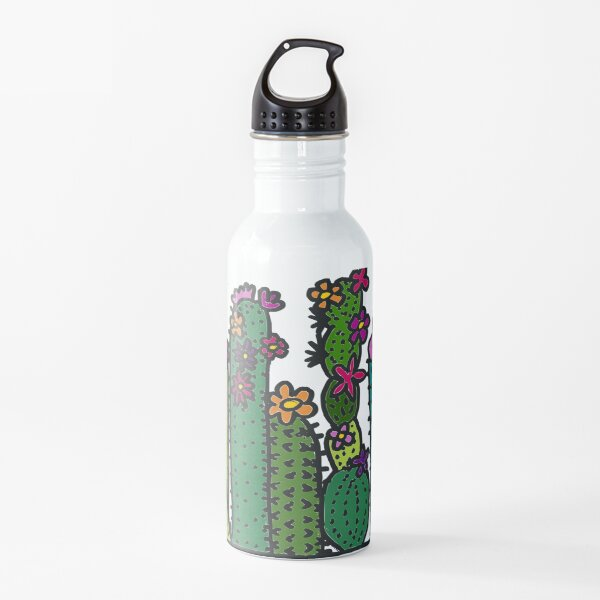 Colorful Cacti Water Bottle
