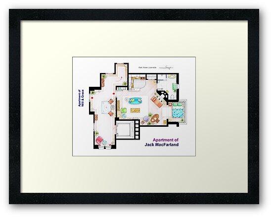 "Jack MacFarland's apartment from ""Will & Grace"" by Iñaki Aliste Lizarralde"