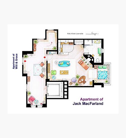 "Jack MacFarland's apartment from ""Will & Grace"" Photographic Print"