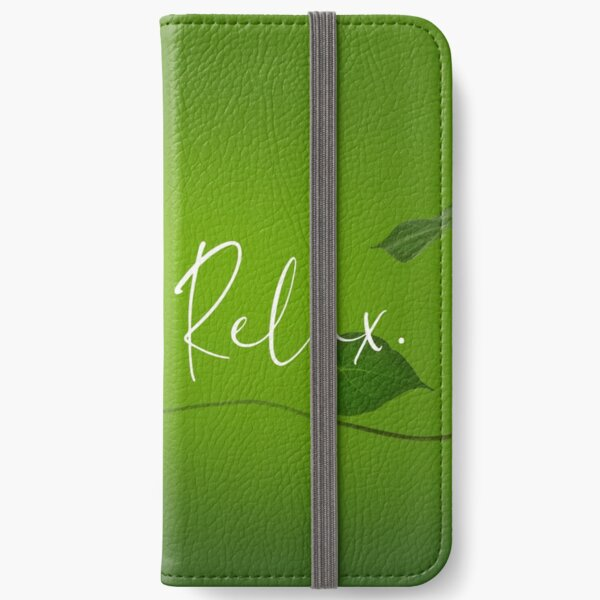 Just relax. iPhone Flip-Case