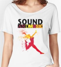 SOUND AND MUSIC Women's Relaxed Fit T-Shirt