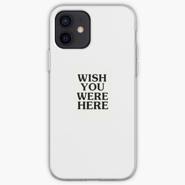 Wish You Were Here Astroworld Travis Scott iPhone Soft Case