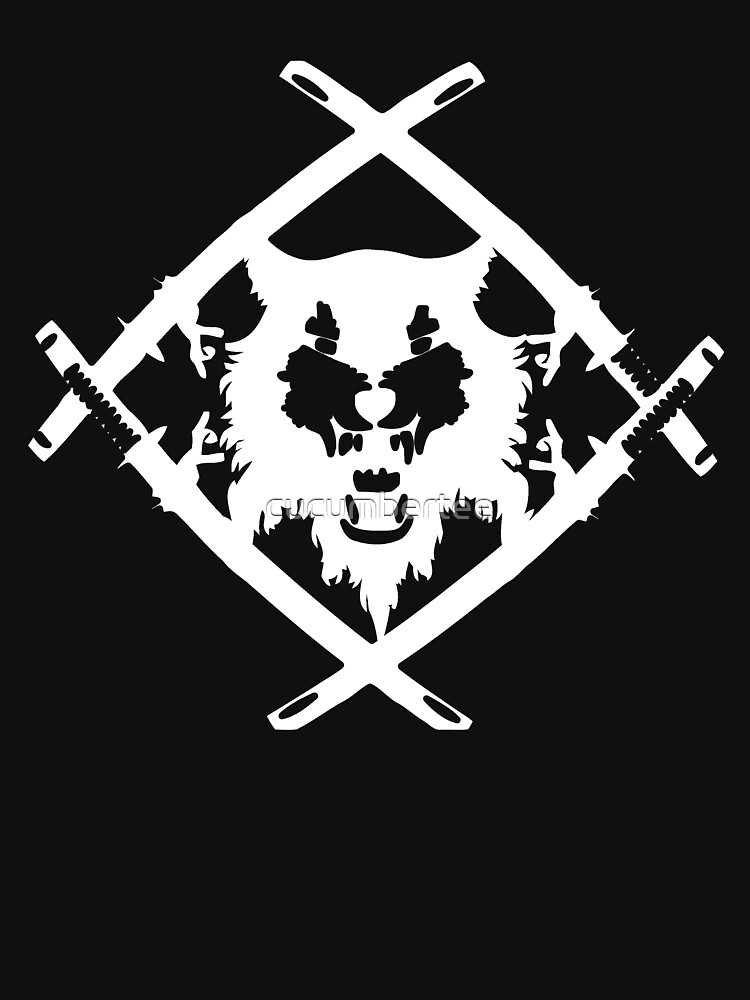 Xavier Wulf Black | Unisex T-Shirt