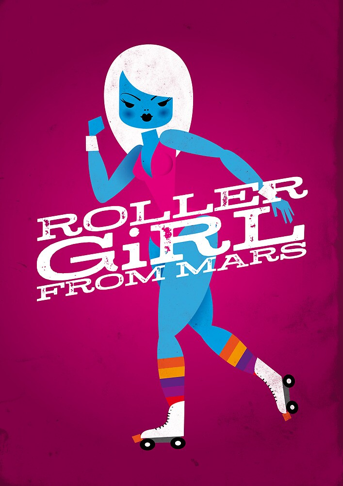 Roller Girl From Mars by Marco Recuero
