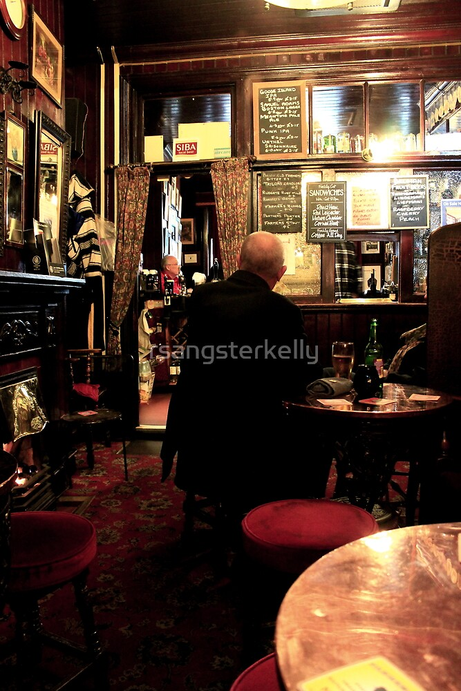 The Smoking Room - The Blue Bell - York by rsangsterkelly