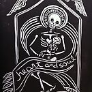 Heart and Soul-Day of the Dead-Madonna by Suzi Linden by Suzi Linden