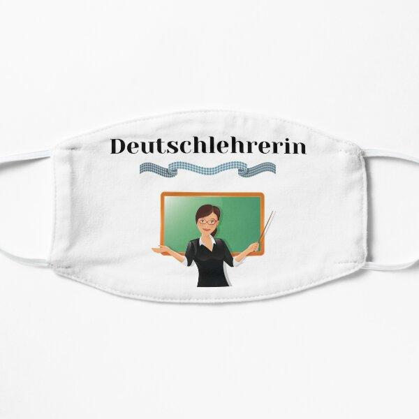 Female German Teacher Deutschlehrerin Female Deutsch Design Mask