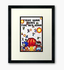 True war was the bit war Framed Print