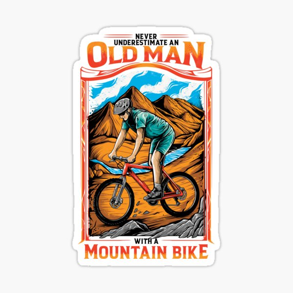 Mountain Bike - MTB for Off Roading - Off Road Bicycle Sticker