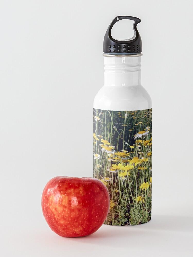 Alternative Ansicht von Färber-Kamille Trinkflasche