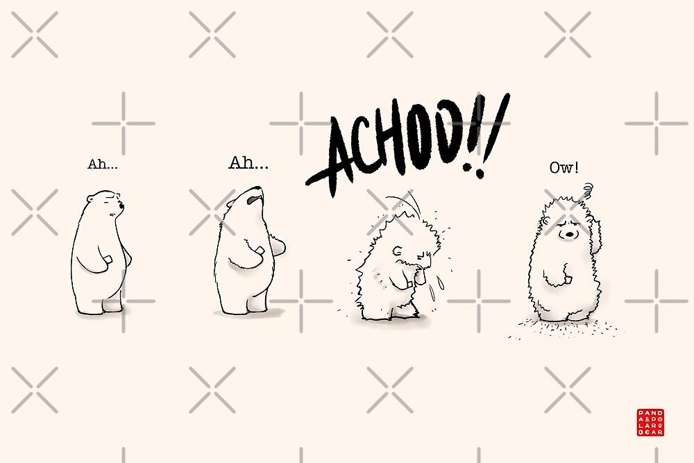 Achoo!! by Panda And Polar Bear