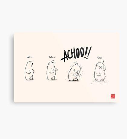 Achoo!! Metal Print