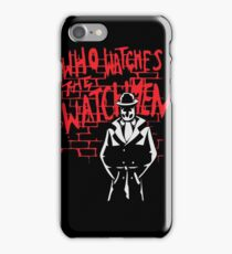 Rorschach - Who watches the WATCHMEN iPhone Case/Skin