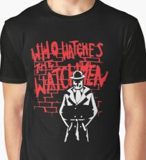 Rorschach - Who watches the WATCHMEN Graphic T-Shirt