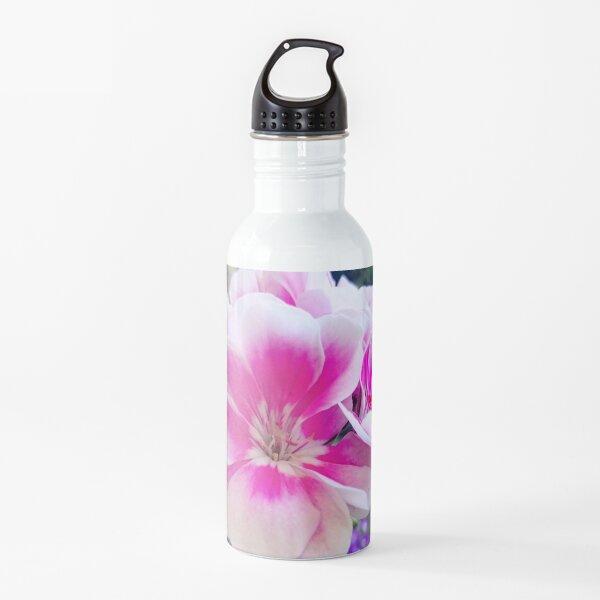 geranium Water Bottle