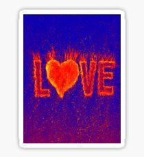 Red Hot Love Sticker