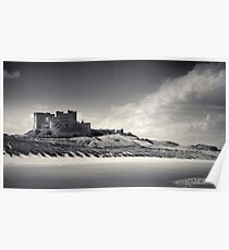 Bamburgh Castle Northumberland Poster