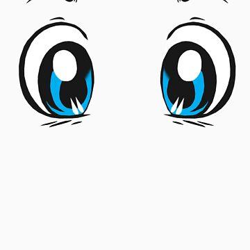 Kawaii-Eyes 1 by shaydeychic