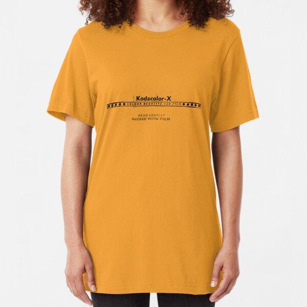Kodacolor-X (Read leaflet) Slim Fit T-Shirt