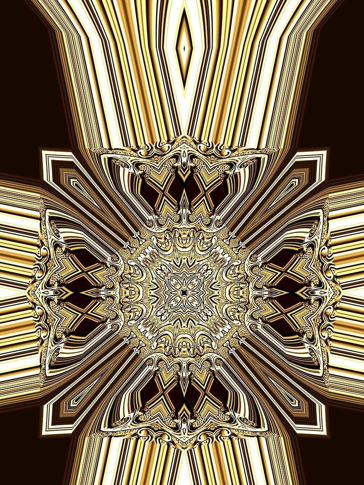 Golden Shield (1) by vkdezine