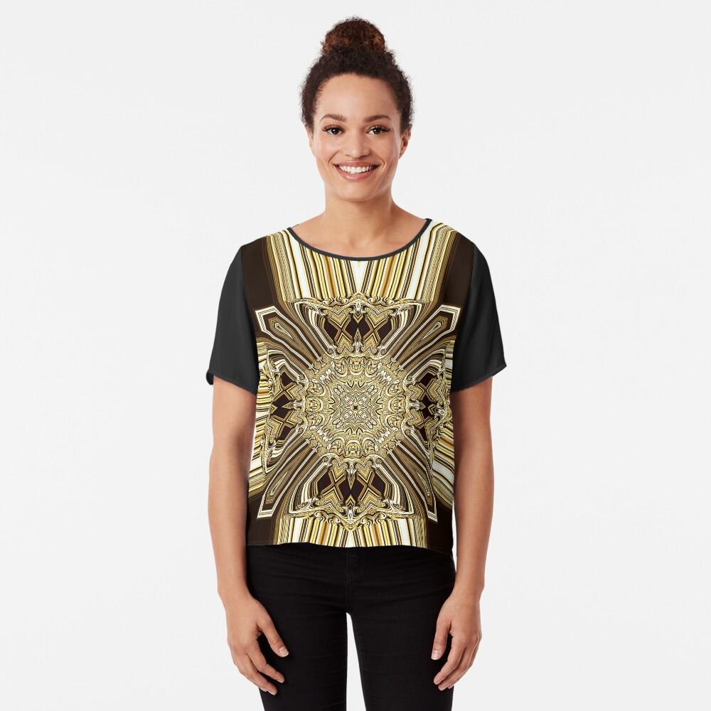 Golden Shield (1) Chiffon Top