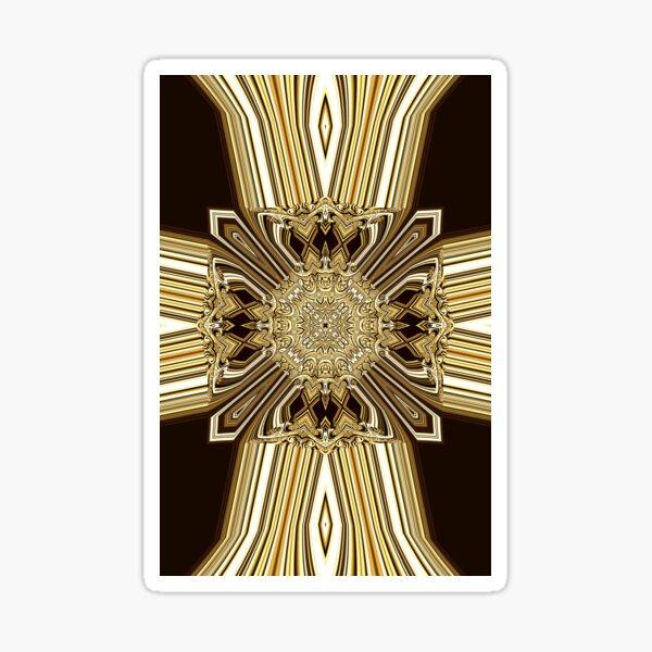 Golden Shield (1) Sticker
