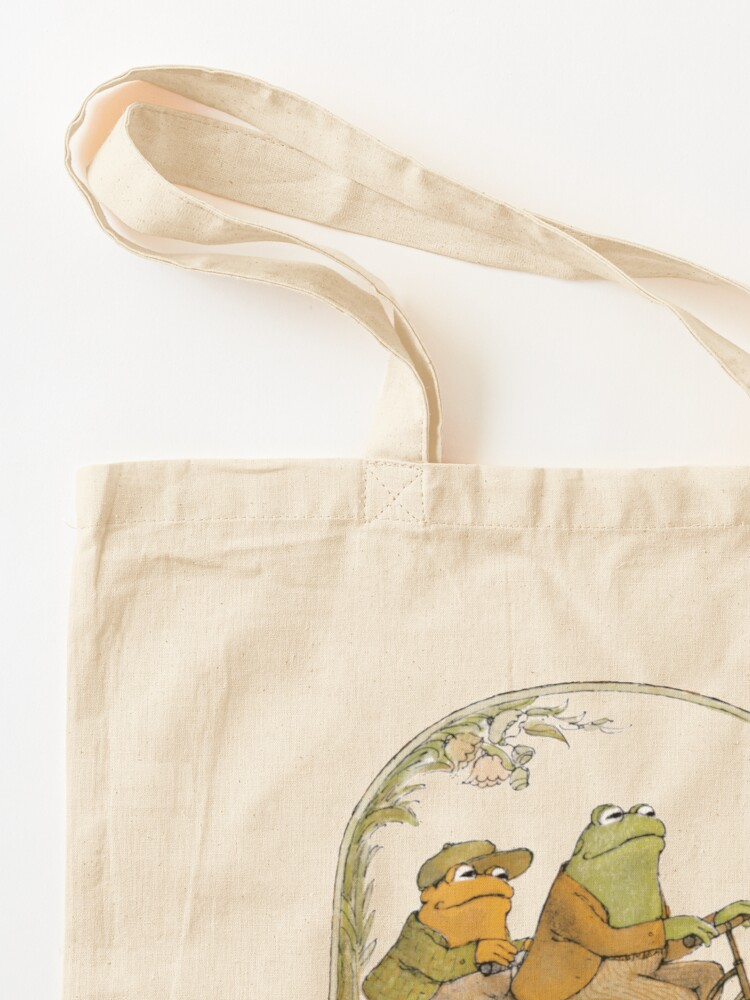 Alternate view of Frog and Toad - Be Gay Do Crime Tote Bag
