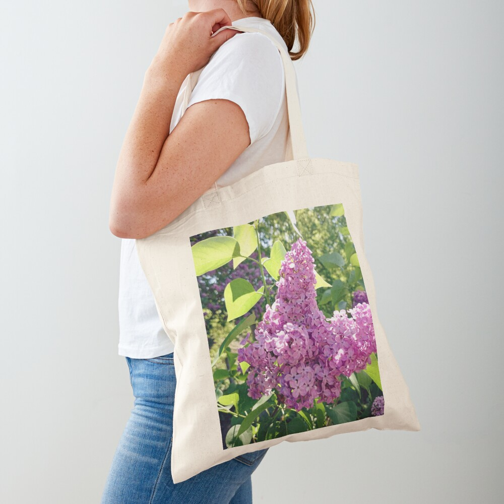 Flieder-Blüte Stofftasche