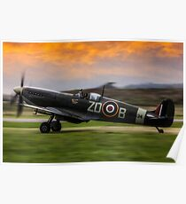 Spitfire MH434 Poster