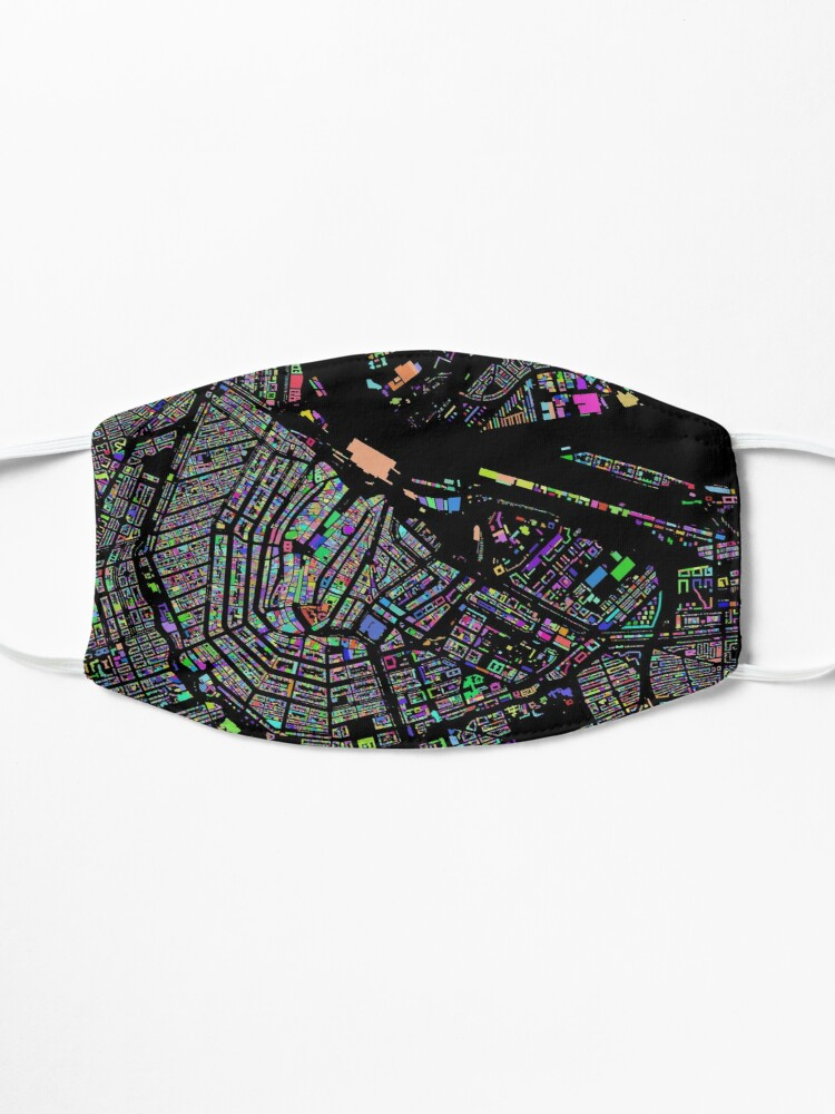 Alternate view of The Colours of Amsterdam Mask