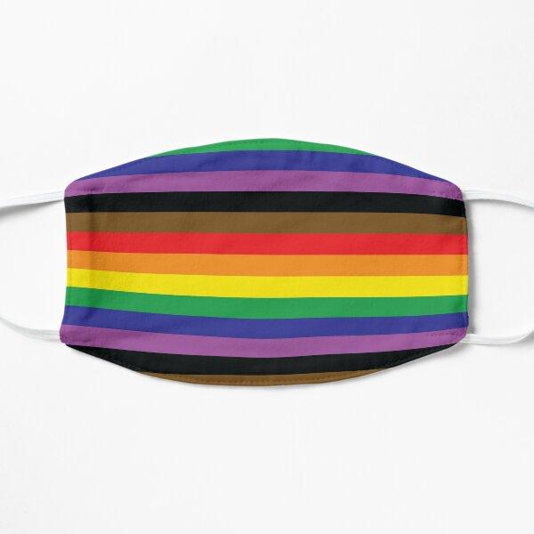 Rainbow Pride Flag Flat Mask
