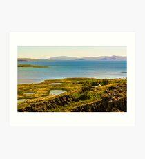 Lake Laugarvatn Art Print