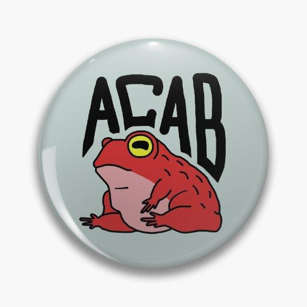 Grenouille ACAB Badge