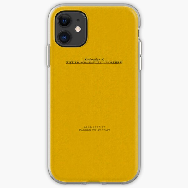 Kodacolor-X iPhone Soft Case