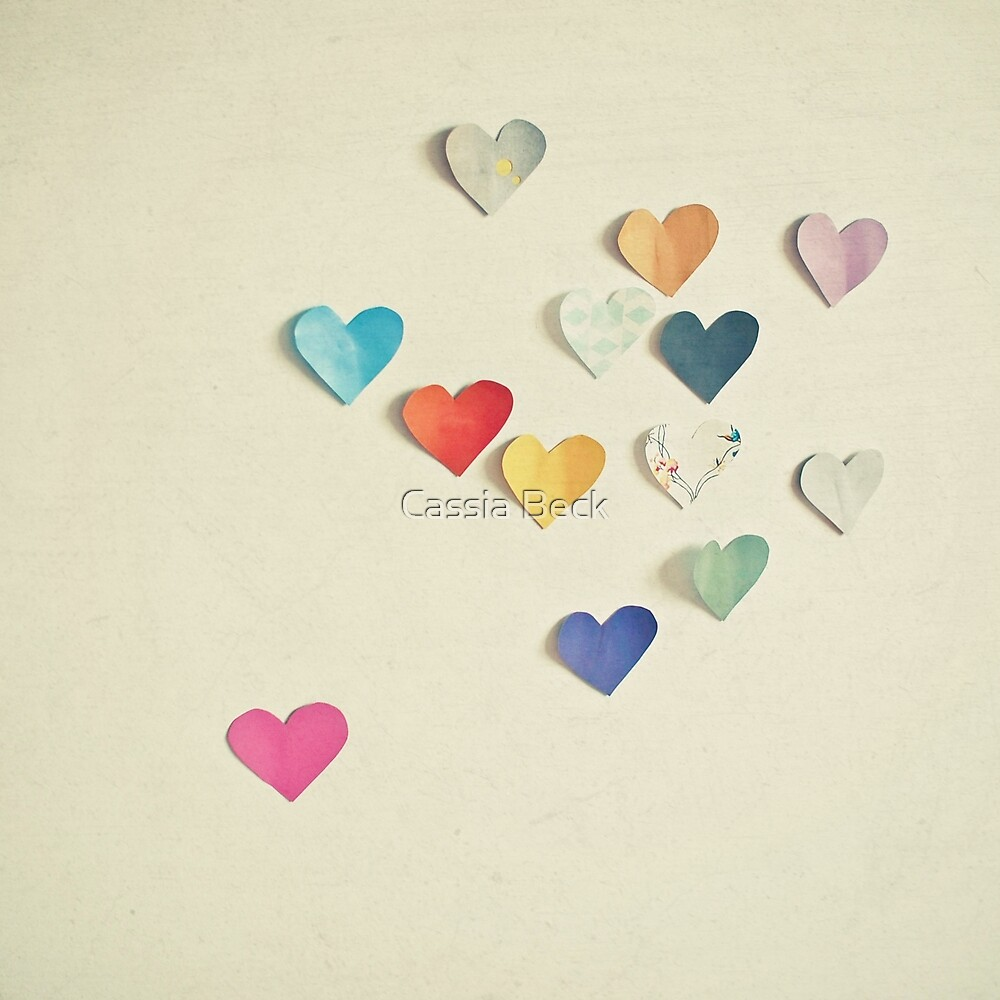 Paper Hearts by Cassia Beck