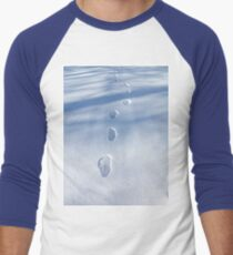 Unique Footprints in the Snow  T-Shirt