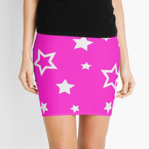beautiful stars at night cover the sky Mini Skirt