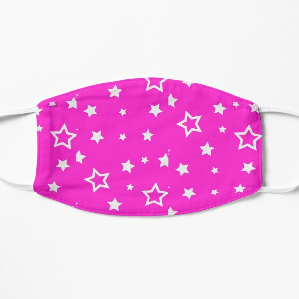 beautiful stars at night cover the sky Flat Mask