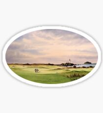 Turnberry Golf Course 12Th Tee Sticker