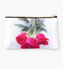 rose in the snow Studio Pouch